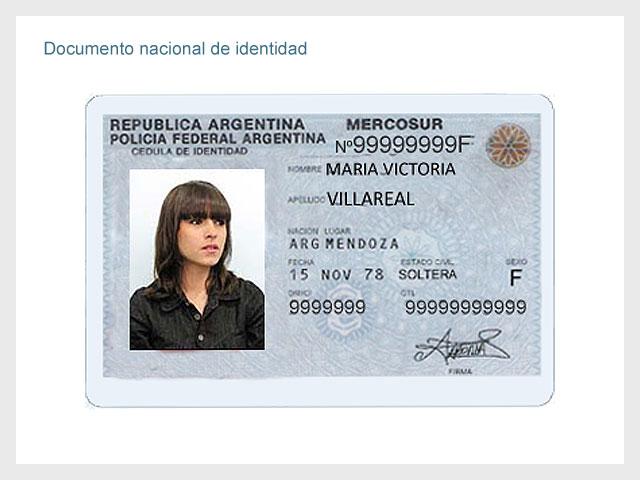 Cédula del Mercosur