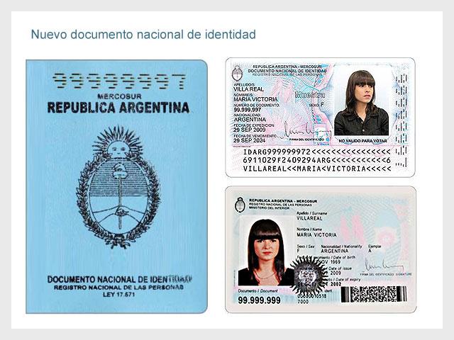 Nuevo Documento Nacional de Identidad del Mercosur