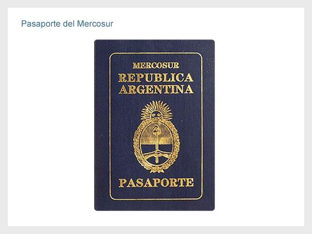 Pasaporte del Mercosur