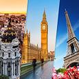 Vacaciones de Invierno en Madrid, Londres & París